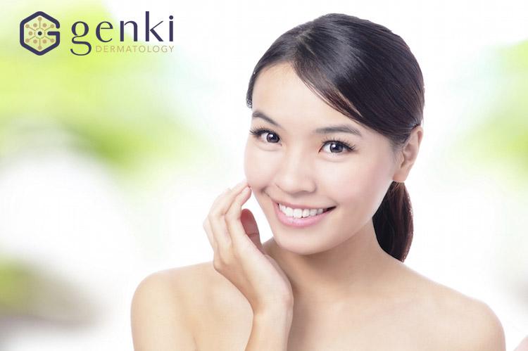 Komichi Genki: Vẻ đẹp xuân sắc cho vùng da mặt và cổ