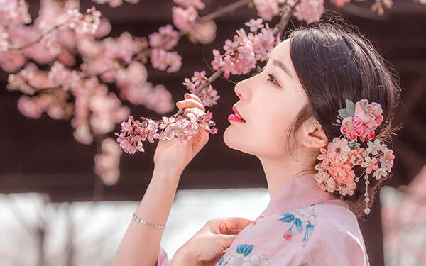 Trắng mịn bật tone hoa anh đào Fuji