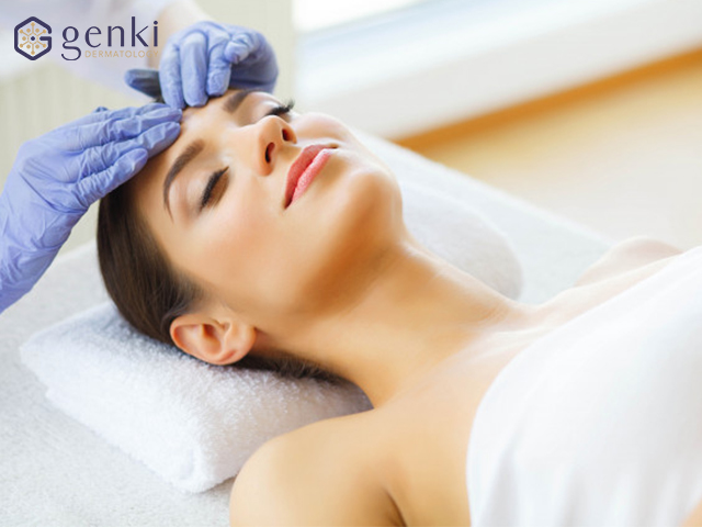 Peel da: đẩy lùi mụn thâm với tinh chất tái tạo da