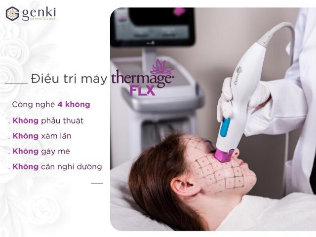 Thermage FLX - công nghệ nâng cơ mặt hàng đầu dành cho phái đẹp