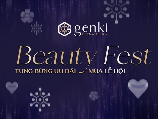 Genki Beauty Fest: Ưu đãi ngập tràn, rộn ràng đón Tết