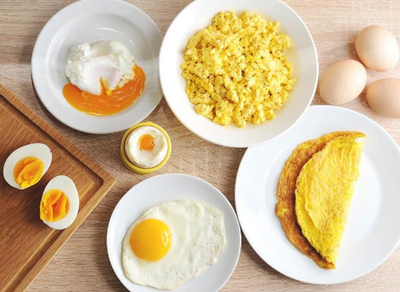 Khi bị sẹo lõm có nên ăn trứng hay không?