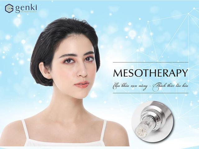 Công nghệ căng da mặt không phẫu thuật Mesotherapy