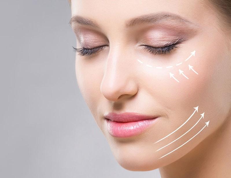cải thiện đường nét trên khuôn mặt nhờ thermage flx