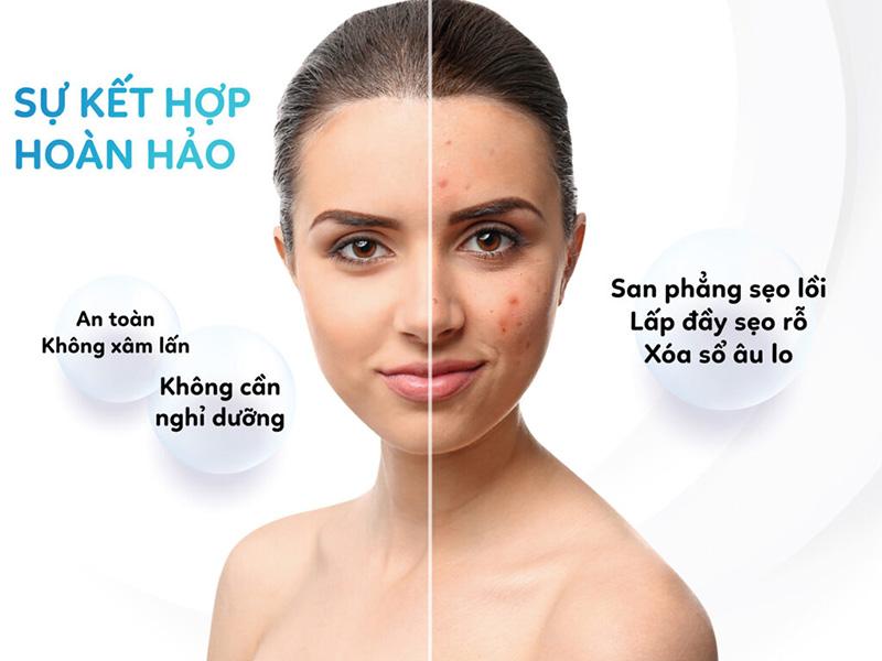 laser co2 fractional giúp điều trị các vấn đề về da