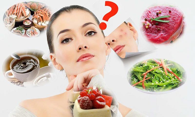 thực phẩm nào nên kiêng để trị sẹo lõm hiệu quả
